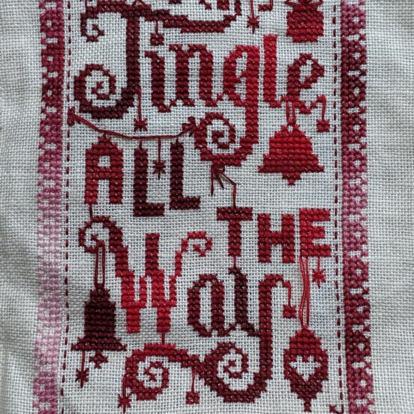 Chart Counted Cross Stitch Pattern Needlework The keeper of secret